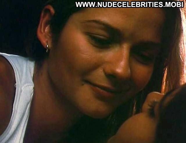 Jill Hennessy Chutney Popcorn Kissing Lesbian Actress Sexy Female