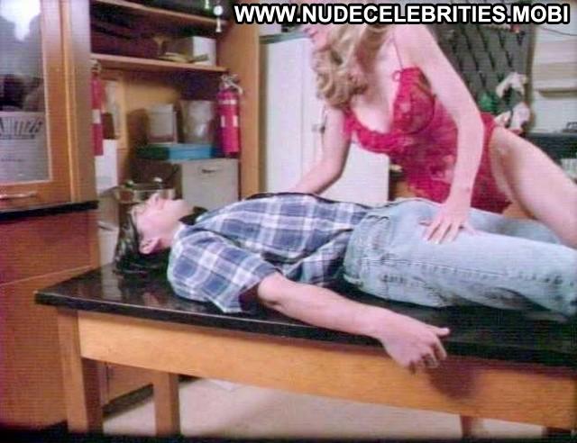 Jonelle Goddard Hot Times At Montclair High Lingerie Table Kissing