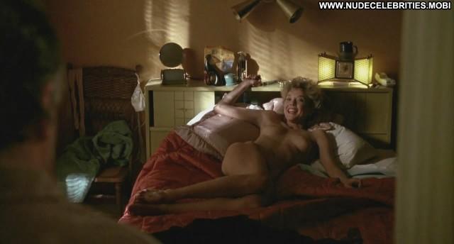 Annette Bening The Grifters Bedroom Celebrity Bed Black Bush Panties