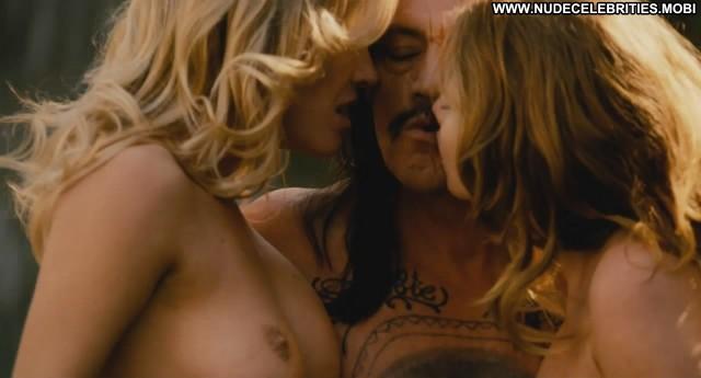Alicia Rachel Marek Machete Breasts Pool Big Tits Topless Celebrity