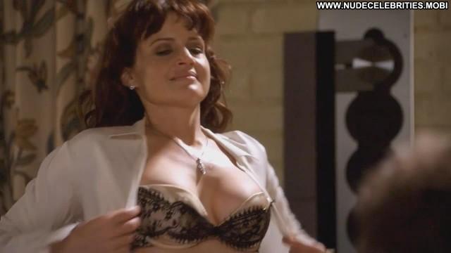Carla Gugino Californication Bra Big Tits Celebrity Nice Breasts