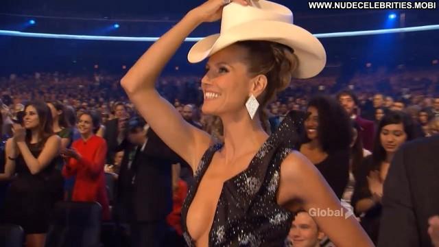 Heidi Klum People S Choice Awards Awards Big Tits Breasts Stage