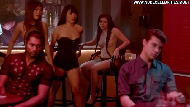 Minnie Scarlet Asian School Girls Big Tits Breasts Black Fishnet