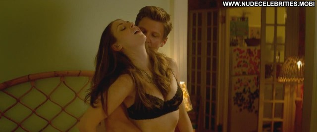 Alison Brie Sleeping With Other People Black Showing Cleavage