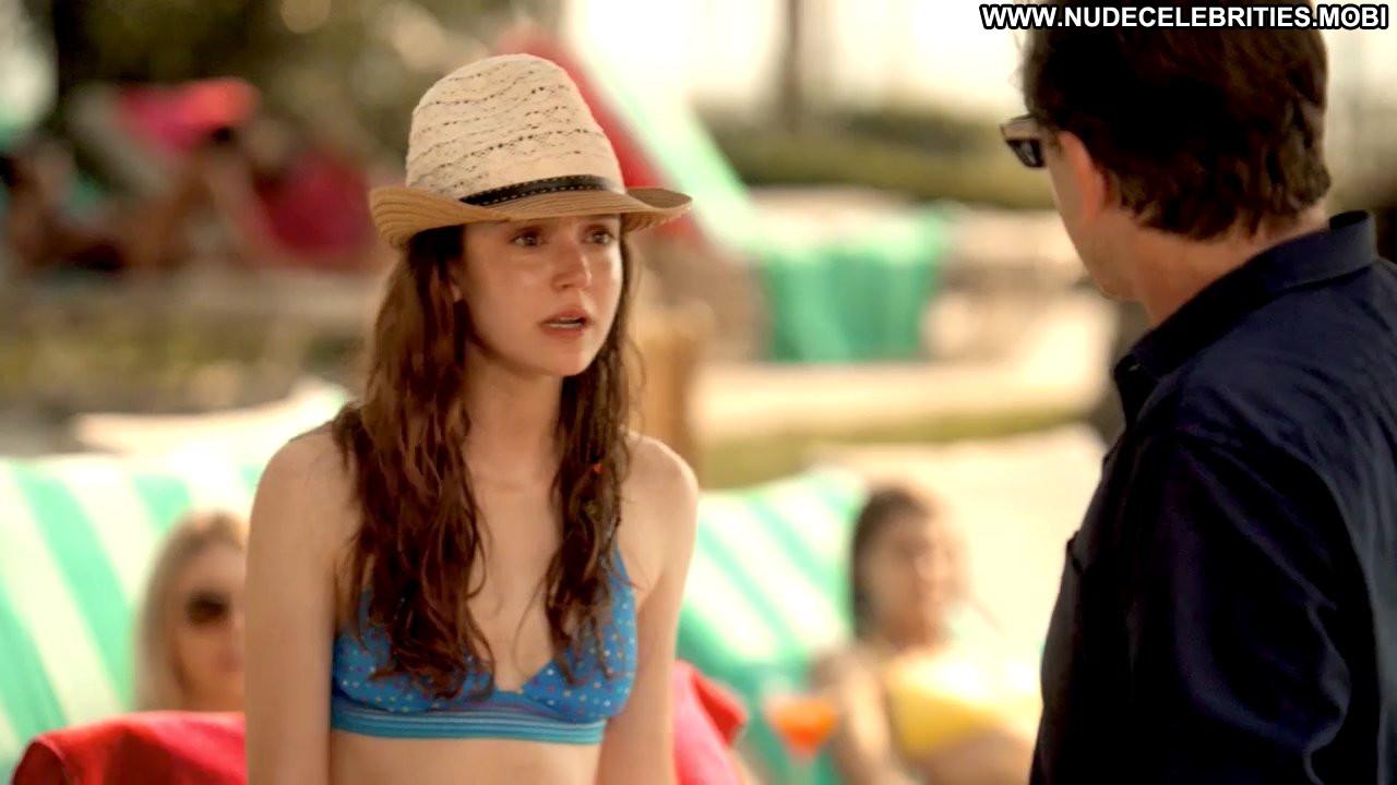 Hayley Mcfarland Lie To Me Lie To Me Celebrity Bikini Pool Resort