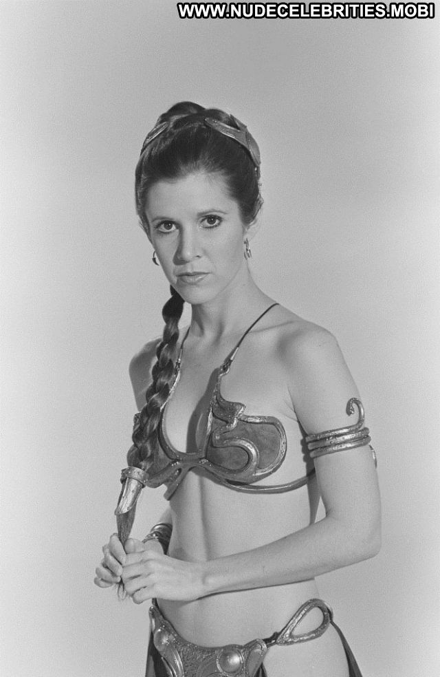 Carrie Fisher No Source Brown Hair Milf Cute Nude Scene Babe