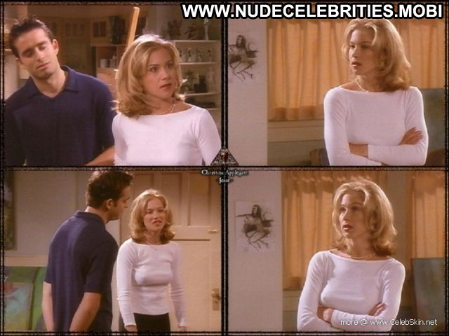 Christina Applegate Celebrity Babe Hot Nude Scene Posing Hot