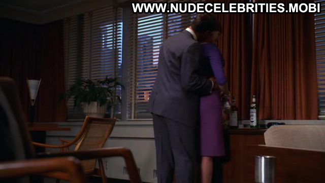 Christina Hendricks Nude Sexy Scene Mad Men Floor Redhead