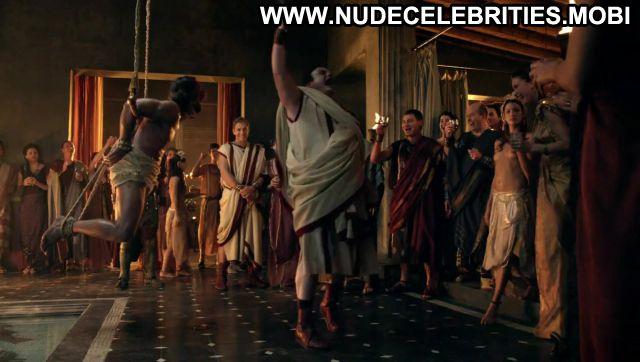 Bonnie Sveen Nude Sexy Scene Spartacus Orgy Sex Scene Blonde