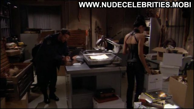 Claudia Black Nude Sexy Scene Stargate Leather Fetish Horny
