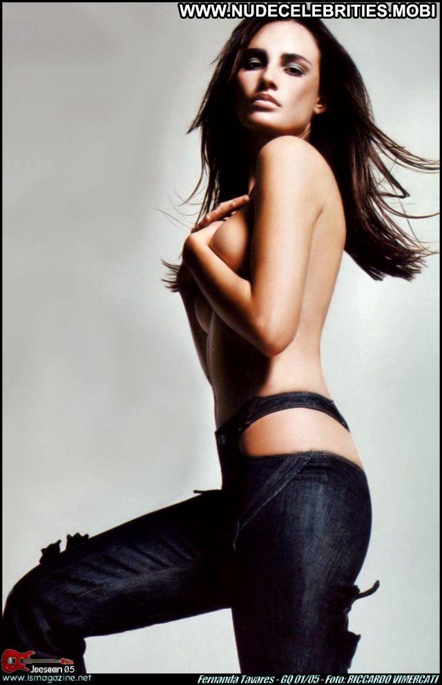 Fernanda Tavares No Source Nude Scene Brunette Posing Hot Hot Nude