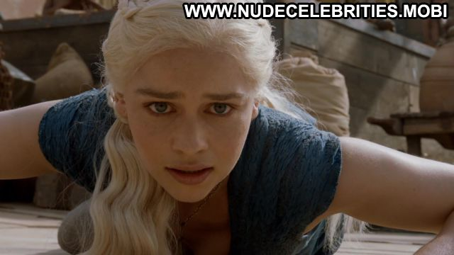 Emilia Clarke Nude Sexy Scene Game Of Thrones Blue Eyes Doll