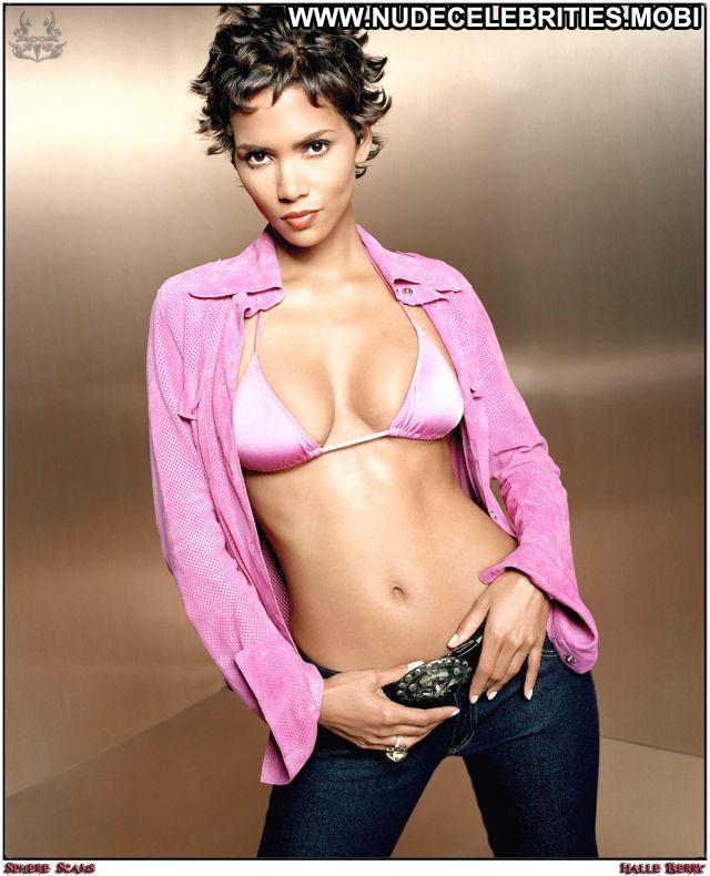 Halle Berry No Source Celebrity Nude Scene Hot Posing Hot Ebony