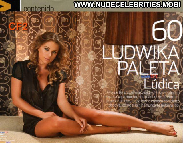 Ludwika Paleta Blonde Blue Eyes Cute Tits Nude Latina Hot Posing Hot
