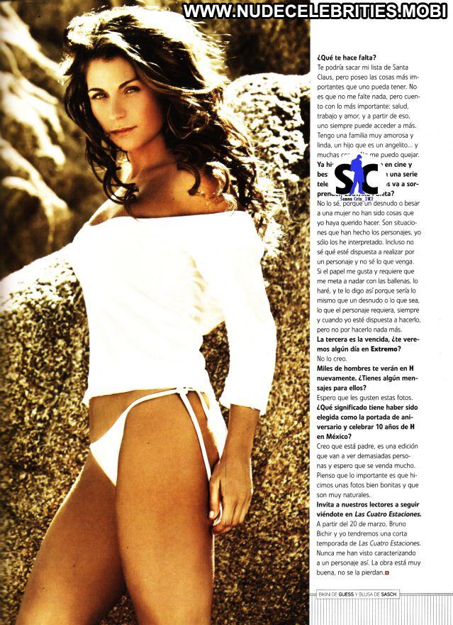 Ludwika Paleta Blonde Blue Eyes Latina Celebrity Showing Tits