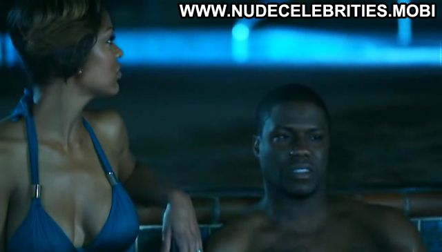 Meagan Good Nude Sexy Scene 35 And Ticking Ebony Pool Bikini