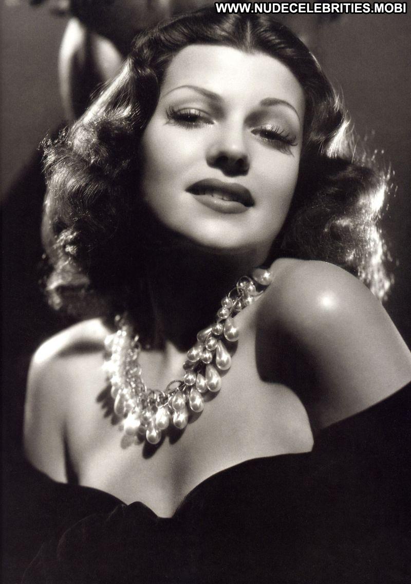 Rita Hayworth Celebrity Posing Hot Babe Blonde Celebrity