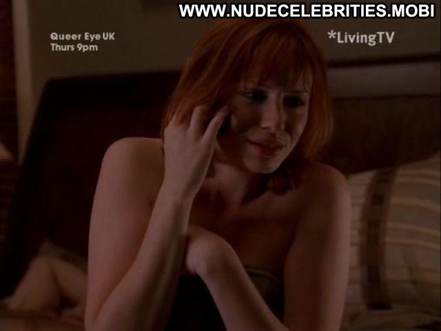 Christina Hendricks Nude Sexy Scene Miss Match Redhead Horny