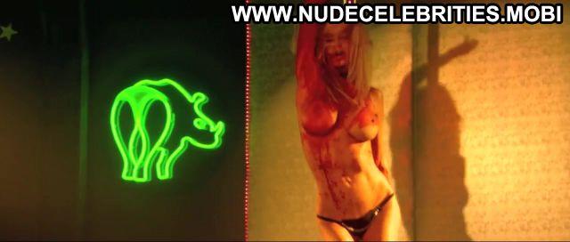 Jenna Jameson Zombie Strippers Corset Pole Dance Lingerie