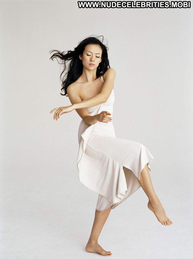 Zhang Ziyi No Source Celebrity Nude Asian Posing Hot Babe Cute Sexy