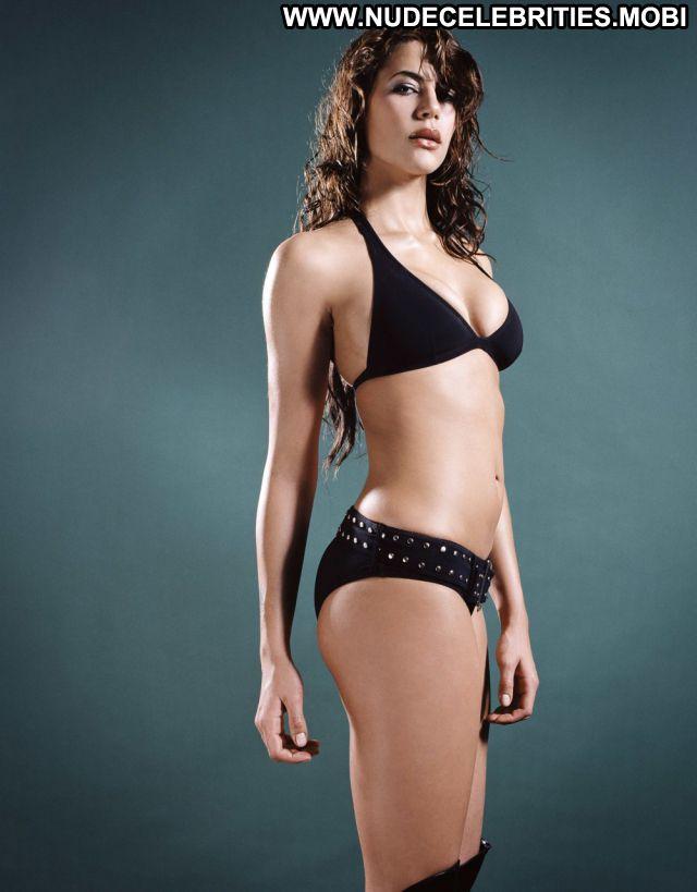 Karima Adebibe No Source Celebrity Brunette Posing Hot Cute Bikini
