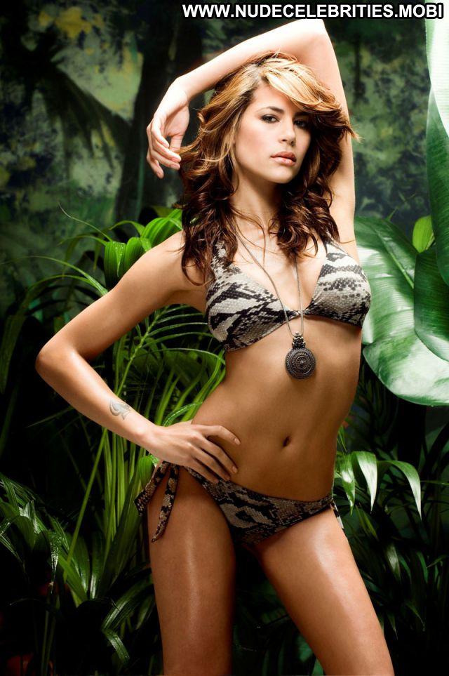 Karima Adebibe Nude Sexy Scene Brunette Big Tits Bikini Babe