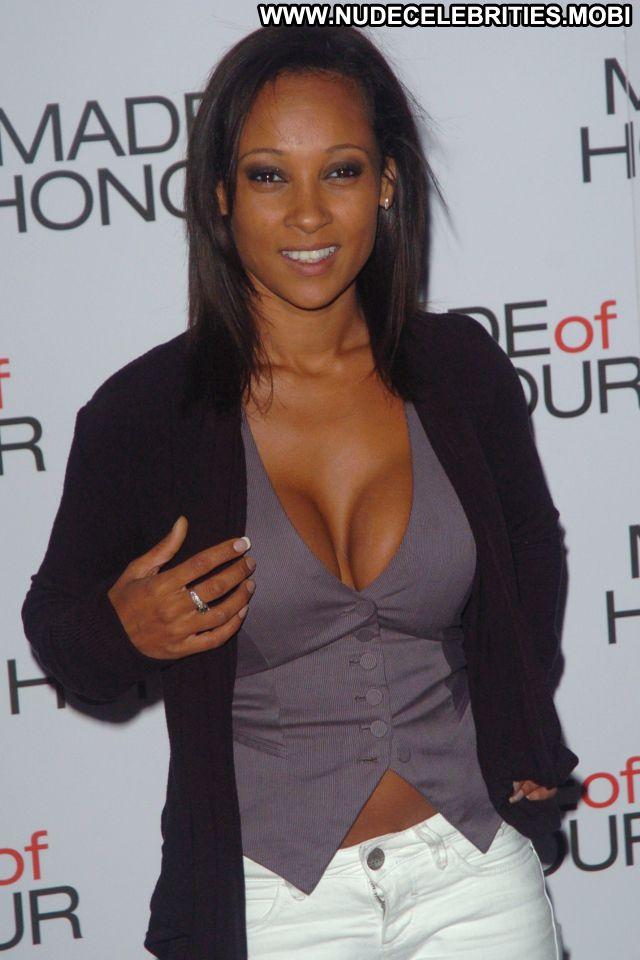 Lisa Maffia No Source Sexy Dress Posing Hot Hot Celebrity Ebony Babe
