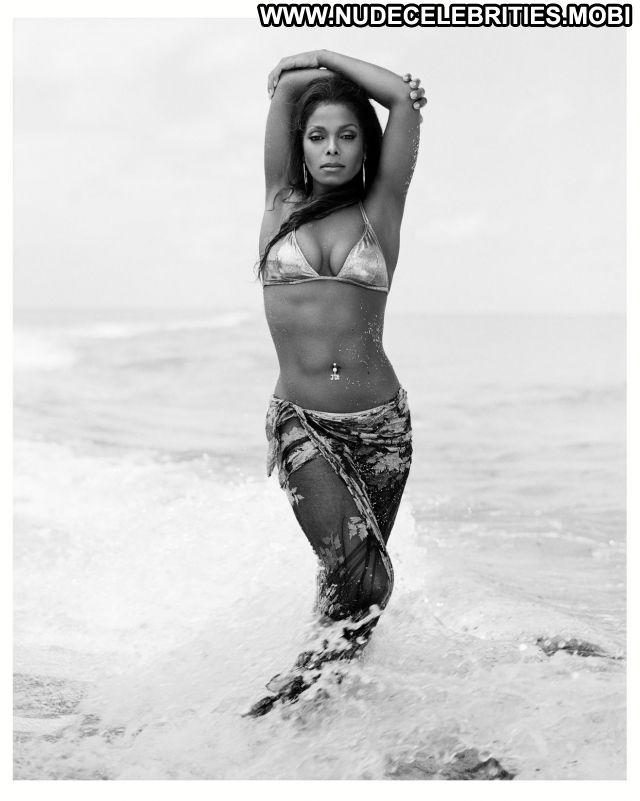 Janet Jackson No Source  Nude Lingerie Celebrity Celebrity Bikini