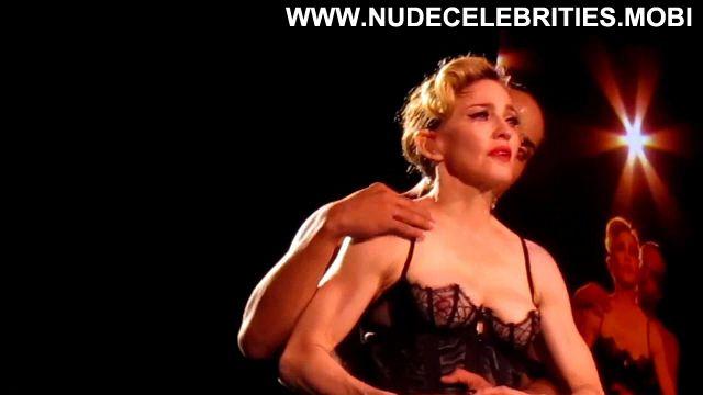 Madonna Nude Sexy Scene Zurich Concert Singer Milf Blonde