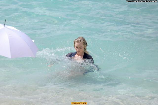 Elsa Hosk No Source See Through Wet Celebrity Beautiful Babe