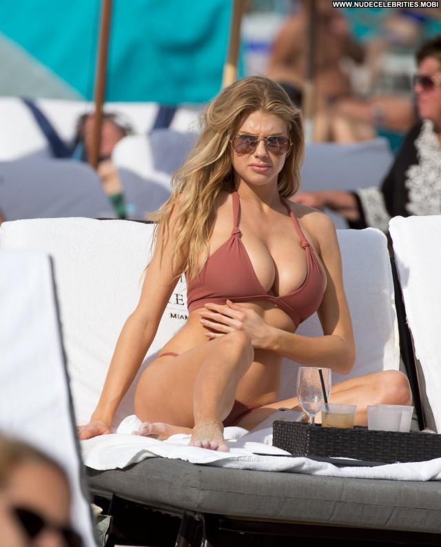 Charlotte Mckinney No Source  Candid Nude Hot Babe Old Bikini