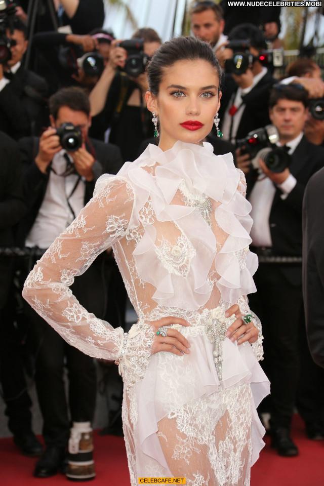 Sara Sampaio Cannes Film Festival See Through Celebrity Posing Hot