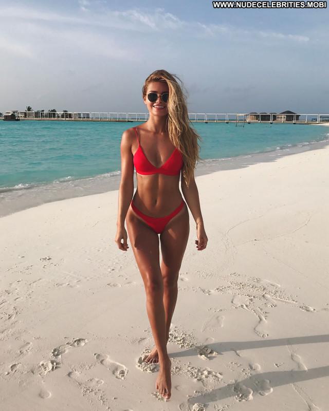 Natalie Jayne Roser No Source Model Babe Swimsuit Winter Celebrity