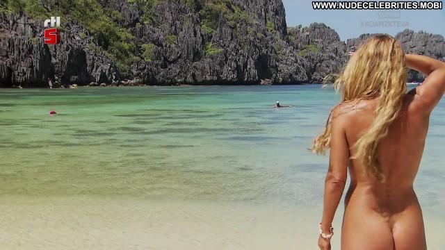 Inge De Bruijn Adam Looking For Eve Posing Hot Babe Celebrity