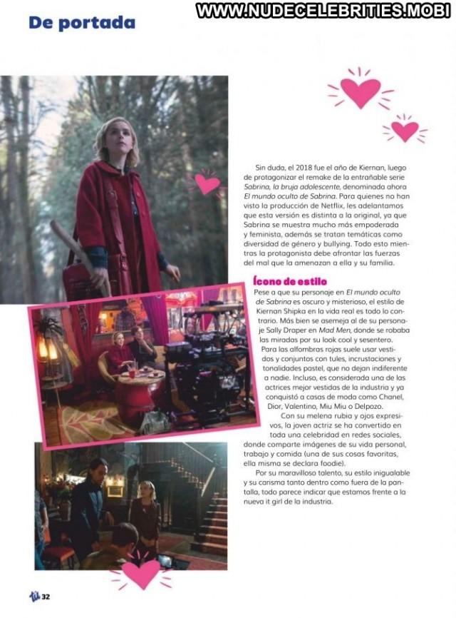 Kiernan Shipka No Source Paparazzi Magazine Beautiful Chile Celebrity