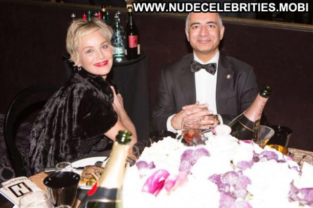 Sharon Stone No Source Chair Babe Paparazzi Posing Hot Beautiful