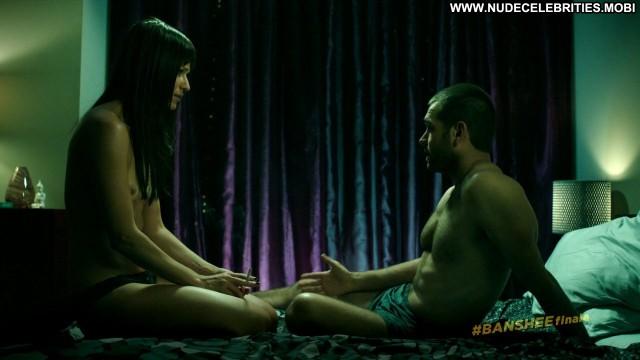 Ivana Milicevic Banshee  Female Breasts Big Tits Celebrity Sex Smoking