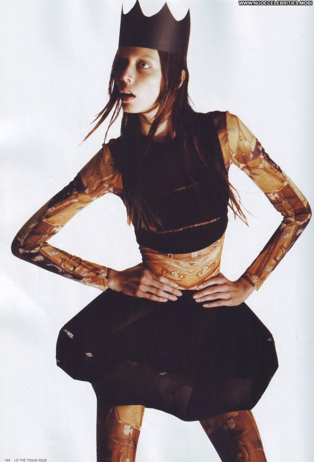 Lara Stone I D Magazine March Celebrity Posing Hot Hot Female Cute