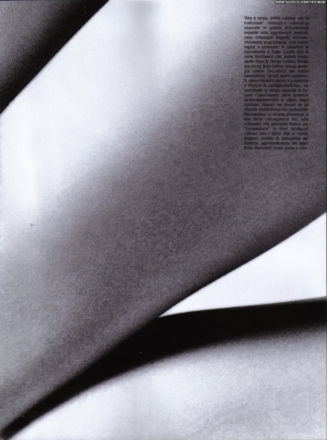 Eugenia Volodina Topless In Vogue Italyn March Tom Munro Scans Posing