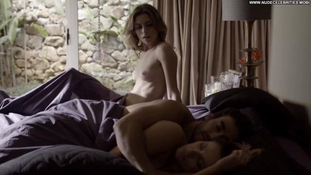 Juliana Schalch Forbidden Babe Posing Hot Topless Beautiful Celebrity
