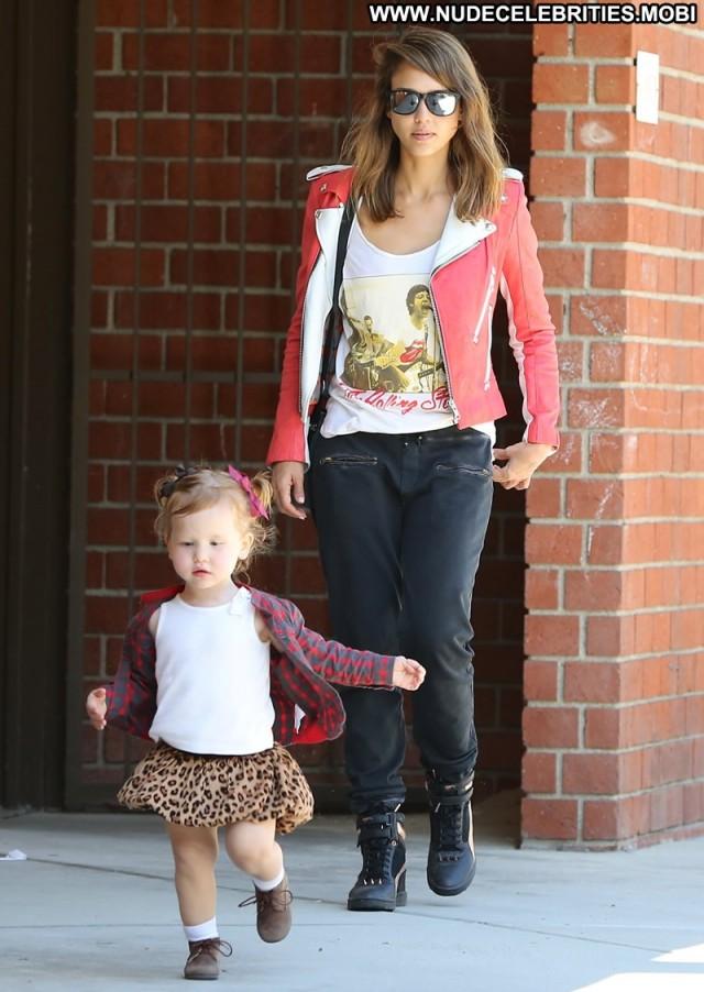 Jessica Alba Los Angeles Candids Beautiful Babe Celebrity High