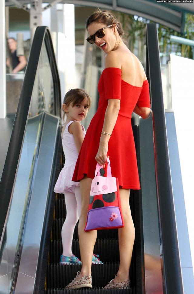 Alessandra Ambrosio Los Angeles Babe Celebrity Posing Hot Beautiful