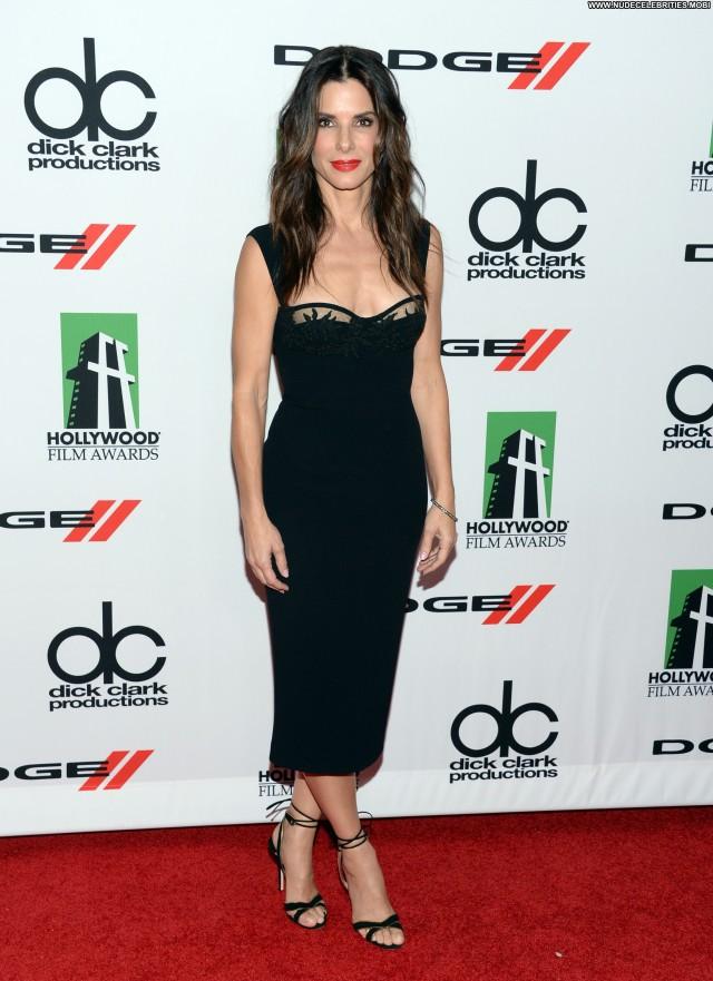 Sandra Bullock Los Angeles  Posing Hot Babe Awards High Resolution