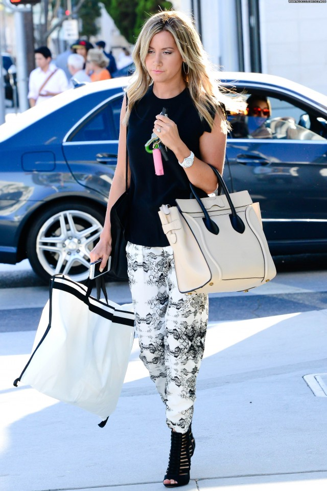 Ashley Tisdale Beverly Hills High Resolution Beautiful Celebrity