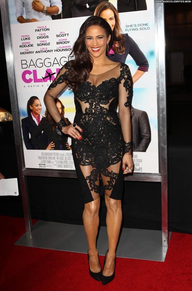 Paula Patton Baggage Claim Posing Hot Babe Beautiful Celebrity High