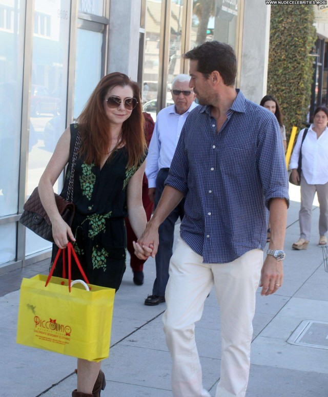 Alyson Hannigan Beverly Hills Celebrity High Resolution Posing Hot