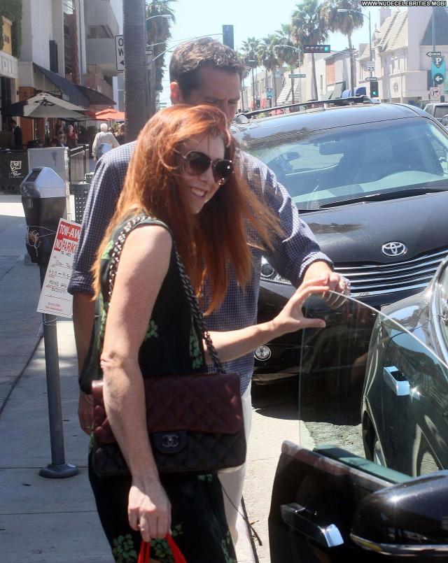 Alyson Hannigan Beverly Hills Beautiful Babe Posing Hot High