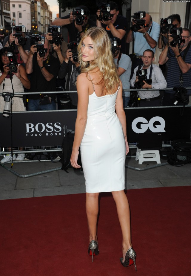 Rosie Huntington Gq Men Of The Year Awards In Babe Posing Hot