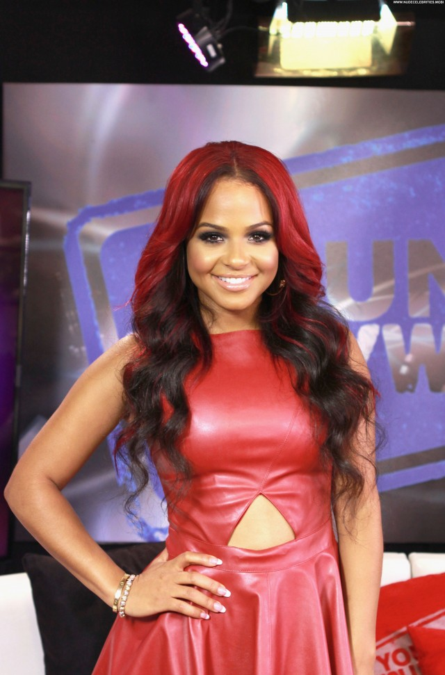 Christina Milian Los Angeles Hollywood Posing Hot Beautiful High