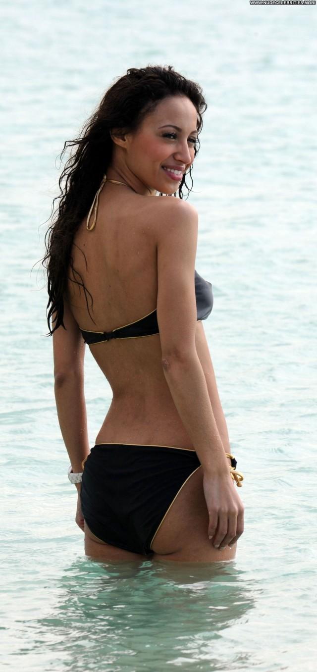 Amelle Berrabah No Source  Celebrity Beautiful Bikini Posing Hot